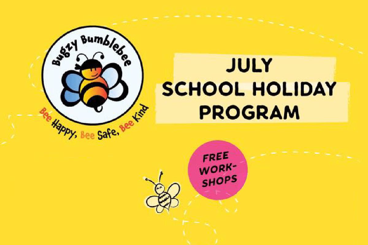 Bugzy Bumblebee - July Holidays 2018