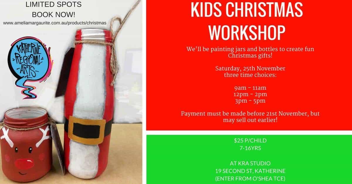 Kids Christmas Workshop (7 - 16 yrs)