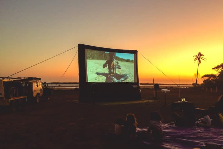 Solar Cinema in Numbulwar